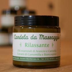 Burro corpo – Candela da massaggio Rilassante