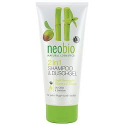 Gel Doccia shampoo con Bio olive e bamboo