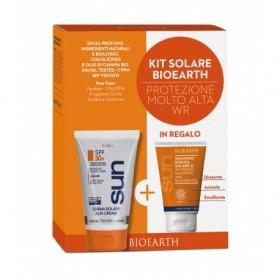 Kit Solare Protezione Molto Alta - Crema SPF 50+ Water Resistant + Shampoodoccia mini
