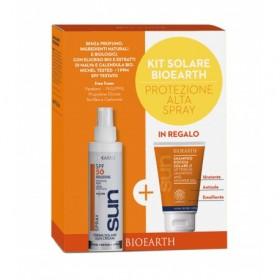 Kit Solare Protezione Alta Spray - Crema Spray SPF 50 + Shampoodoccia mini