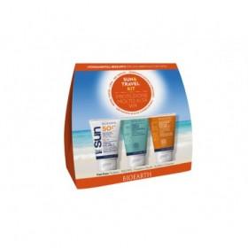 Sun&Travel Kit Protezione Molto Alta - Crema SPF 50+ Water Resistant + Crema Doposole + Shampoodoccia in FORMATO MINI