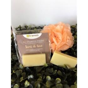 MINITAGLIA Shampoo solido ai Semi di lino