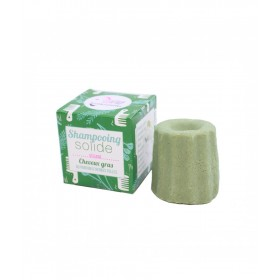 Shampoo solido senza oli essenziali per capelli grassi alle erbe folli