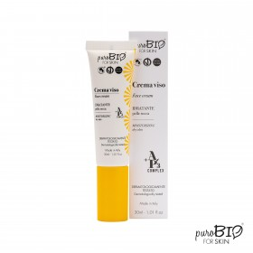 Crema Viso Idratante pelle secca -PuroBio for skin