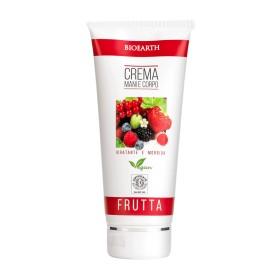 Crema mani e corpo Frutta -Bioearth family