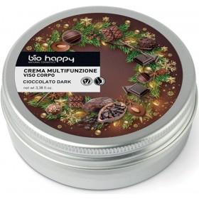 Crema multifunzionale viso e corpo - cioccolato dark Biohappy