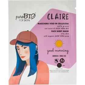 CLAIRE maschera viso - Good morning  - puroBIO FOR SKIN
