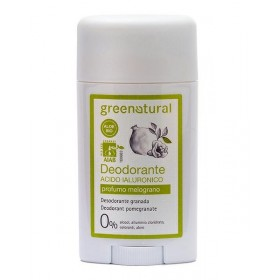 Deodorante in gel acido jaluronico - profumo melograno