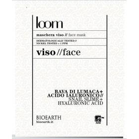 Maschera viso loom - Estratto di bava di lumaca + acido jaluronico - Bioearth