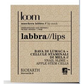 Patch labbra loom - Estratto di bava di lumaca + cellule staminali di mela - Bioearth