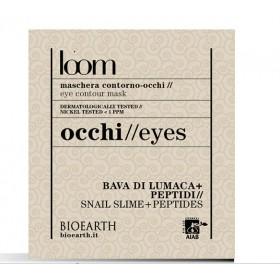 Patch contorno occhi loom - Estratto di bava di lumaca + peptidi - Bioearth