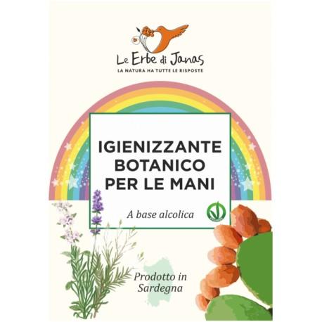 Igienizzante Botanico lavamani a base alcolica - Le Erbe di Janas -15%