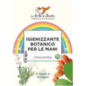 Igienizzante Botanico lavamani a base alcolica - Le Erbe di Janas 250 ml