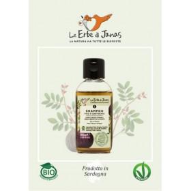 Mini shampoo capelli secchi Fico e lentischio BIO 50 ml