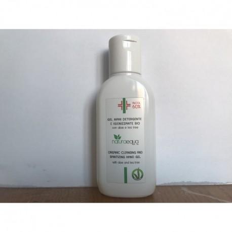 Gel mani detergente e igienizzante BIO con alcool - NaturaEqua