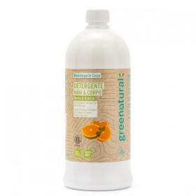 Detergente Delicato Mani e Corpo Menta & Arancio –1000 ml
