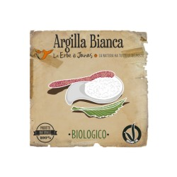 Argilla bianca Caolino - Le erbe di janas